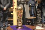 Le ceneri di Pablito in un'urna a forma di Coppa del Mondo - FOTO