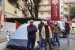Catanzaro, protesta contro la chiusura del Sant'Anna Hospital