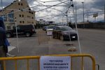 Polemica sui tamponi a Reggio, sospese le attività al drive-in di Pellaro