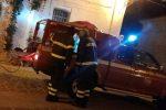 Amendolara, notte di fuoco a Palazzo Blefari: distrutti i mobili