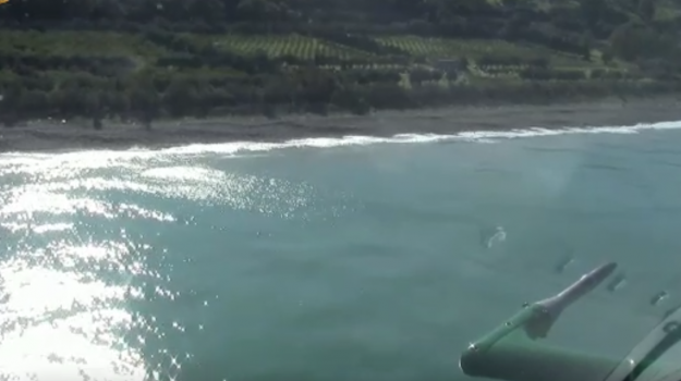 Torrenova, i finanzieri scovano 30 chili di hashish... sotto la sabbia - VIDEO