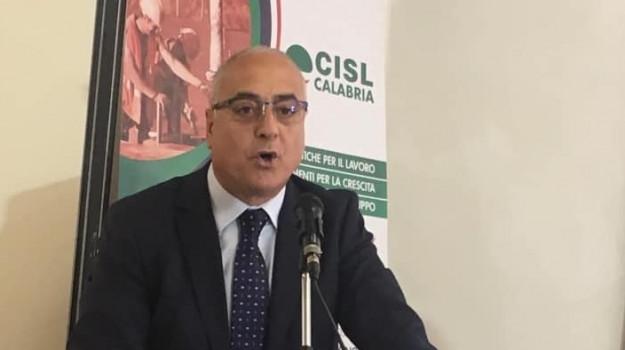 calabria, cisl, reti di comunicazione, trasporti, Tonino Russo, Calabria, Politica