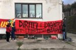 Castrolibero, sit-in dipendenti Siarc. Stipendi arretrati e forte malcontento