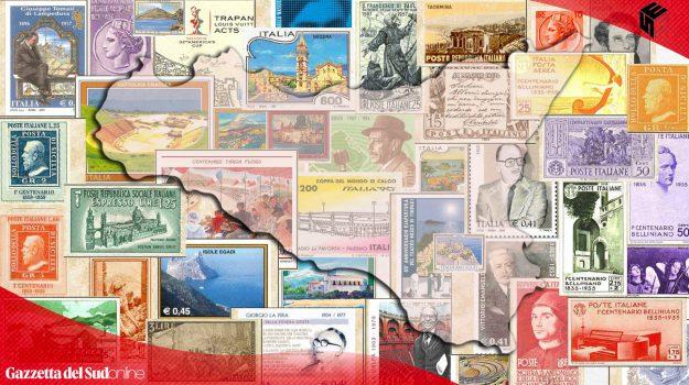 Il giro della Sicilia in 89 francobolli: la magia dell'isola. TUTTE LE IMMAGINI