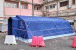 Ospedale di Vibo: tende donate, installate e mai utilizzate