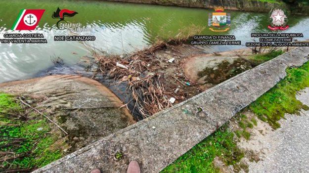 inquinamento ambientale, lamezia terme, operazione Waste Water, Giovanni De Ninno, Leonardo Angelastri, Maurizio Martena, Roberto Martena, Catanzaro, Cronaca