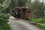 Patti, 60enne muore schiacciato da un trattore mentre lavora in campagna