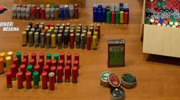 armi, arresto, caronia, messina, munizioni, Messina, Cronaca