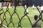 Calcetto in zona rossa a Messina: minorenni sorpresi a giocare in un campetto cittadino