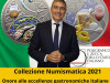 Cannoli e tortellini su 2 monete, omaggio a cultura enogastronomica