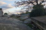 La rupe di Maietta nel centro storico di Caulonia è a rischio crollo