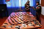 Furto d'armi a Cosenza: ritrovato il 90% della refurtiva vicino al villaggio rom - FOTO E VIDEO