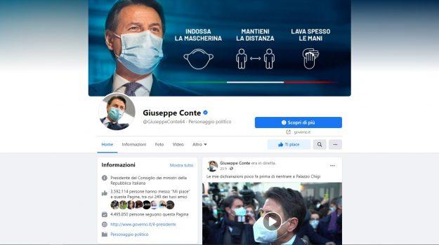 facebook, Giuseppe Conte, Matteo Renzi, Sicilia, Politica