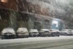 Cosenza d'incanto sotto la neve. Il maltempo colpisce varie zone della provincia - VIDEO