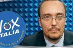 L'avvocato Marco Mori di Vox Italia