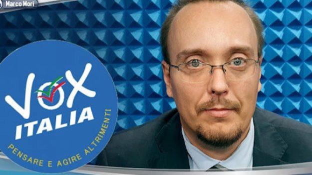 vox italia, Marco Mori, Cosenza, Politica