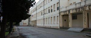 L'ingresso della scuola Aldisio di Catanzaro
