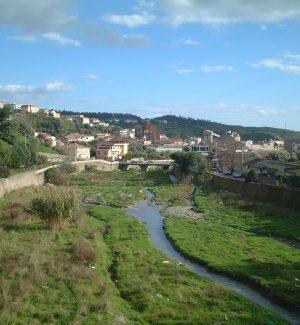 Il torrente Fiumarella a Catanzaro