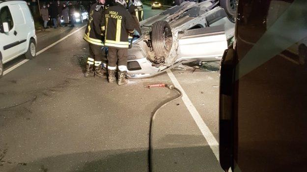 catanzaro, due feriti, incidente stradale, Catanzaro, Cronaca