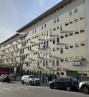 """Uno scorcio dell'ospedale """"Pugliese"""" di Catanzaro"""