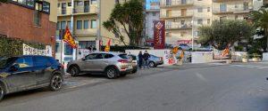 La protesta dei lavoratori del Sant'Anna Hospital di Catanzaro