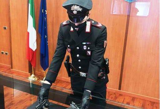 arresto, carabinieri, cosenza, pistola, Cosenza, Cronaca