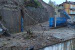 Cetraro, ancora in corso una pericolosa frana sul tratto Palazzulla-Salineto