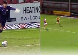 Galles, il portiere segna dalla propria porta È il suo primo gol in carriera e sicuramente lo ricorderà a lungo - Dalla Rete
