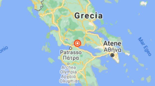 grecia, terremoto, Sicilia, Mondo