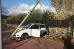Taormina, auto si schianta contro un palo. Positivo ad alcool e droga il conducente