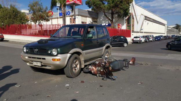 a auto, incidente, moto, Messina, Archivio