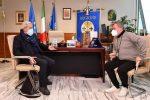Il commissario ad acta per la sanità calabrese, Guido Longo, e il presidente facente funzioni della Regione Nino Spirlì