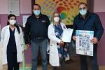"""Lamezia Terme, la befana del poliziotto """"visita"""" i bimbi ricoverati in ospedale"""