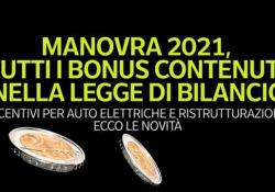 Manovra 2021, tutti i bonus contenuti nella Legge di Bilancio Incentivi per auto elettriche e ristrutturazioni: ecco le novità - Ansa