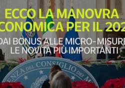 Manovra economica, dai bonus alle micro-misure, le novità principali per il 2021 Dall'assegno unico alle famiglie fino al cellulare «di Stato» - Ansa