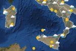 Meteo Messinae Sicilia oggi e domani