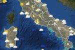 Previsioni meteo Roma per oggi e domani. Temperature vicino allo zero, neve mista a pioggia