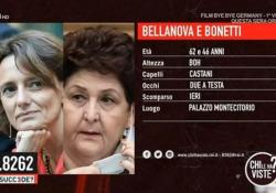 """Ministre di Italia Viva scomparse: a «Che Succede» l'ironico video in stile 'Chi l'ha visto' Nel programma condotto da Geppi Cucciari è andato in onda un finto servizio sulla """"scomparsa"""" delle ministre - Ansa"""