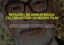 Miyazaki, 80 anni di magia celebrati con un nuovo film Il regista di animazione più apprezzato al mondo festeggia lavorando a un nuovo lungometraggio - Ansa