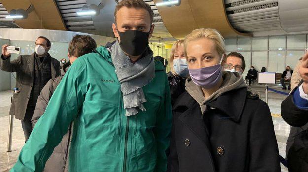 mosca, russia, Alexei Navalny, Vladimir Putin, Sicilia, Mondo