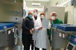 Patti e Taormina, due congelatori per i vaccini
