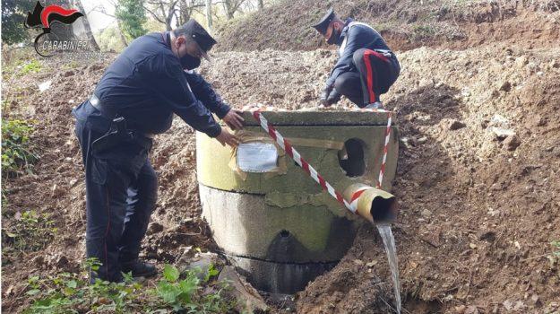platania, sequestro, vasca per la raccolta delle acque reflue, Catanzaro, Cronaca