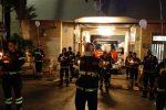 Cosenza, una fiaccolata per ricordare i tre vigili del fuoco scomparsi nel 2020