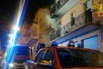 Incendio in casa anziana a Ragusa, salvata dai vigili del fuoco