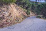 La strada di collegamento tra Armo e Santa Venere di Reggio Calabria