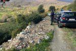 I rifiuti abbandonati a Lattarico