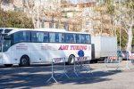 Sbarco a Messina, altri due positivi sui pullman provenienti dalla Romania