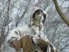 S. Francesco di Paola, la neve imbianca il patrono della Calabria