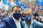 Matteo Salvini e Roy Biasi