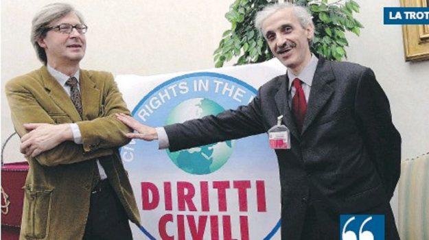 diritti civili, video-story, Franco Corbelli, Vittorio Sgarbi, Cosenza, Società